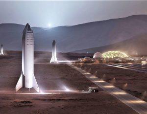 SpaceX kolonisering av Mars